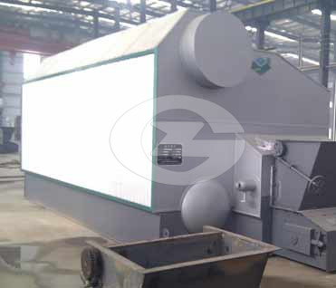 15ton watertube steam boiler image